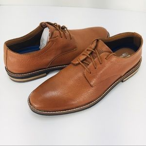 Bostonian Dezmin Plain Tan Leather Men's Oxfords